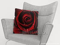 ФотоПодушка Красная роза, арт. 10 001184