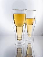 Комплект пивных бокалов с двойным дном 400 мл 2 предмета, арт. EZ-3042