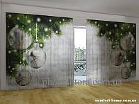 Фотоштора ПАНОРАМА 3D Серебро 2,7х5,0 м, арт. FRA-50000860