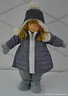 Девочка в зимне куртке  37 см Германия