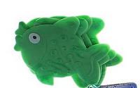 Рыбка зеленая. Мини-коврики в ванную