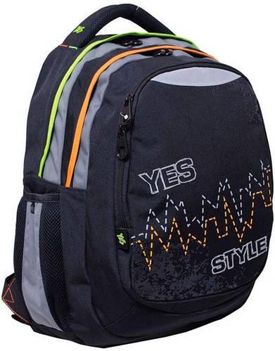 """Удобный вместительный подростковый рюкзак 30 л. Т-22 """"Pulse"""" YES! 552620 синий"""