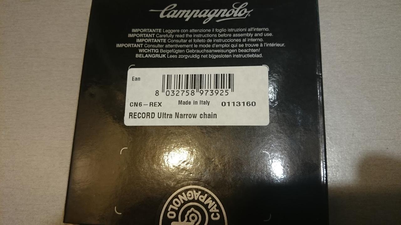 Campagnolo Record 10-скоростей - картинка 3