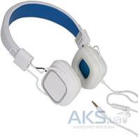 Наушники Gemix Clarks White/Blue