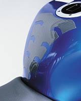 Наклейка на бак мотоцикла Oxford Spider карбон