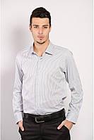 Классическая рубашка в тонкую полоску