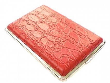 Выразительный портсигар S.QUIRE AB03-2208 красный