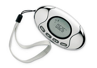 Шагомер педометр 2 in1 LCD Pedometer Fat Calorie Meter Monitor Alarm New