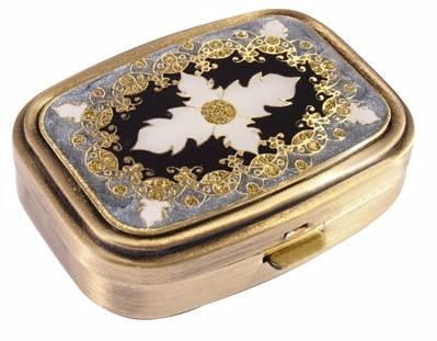 """Идеальная карманная пепельница """"Leif Lowe"""" 383039AB бронзовый"""
