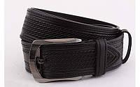Ремень мужской кожаный джинсовый ширина 45 мм 930381