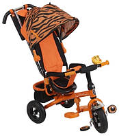 Трехколесный велосипед Mini Trike Zoo Тигр надувные колеса