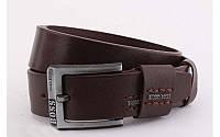 Ремень мужской  Hugo Boss кожаный джинсовый ширина 40 мм 930390