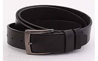 Ремень мужской кожаный джинсовый ширина 40 мм 930394