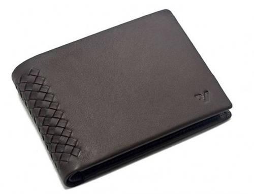 Кожаное стильное мужское портмоне Roncato Monaco 410670/44 коричневый
