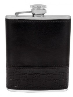 Стильная фляга для алкоголя 0,18 л. Alkazar TB 06-3158B