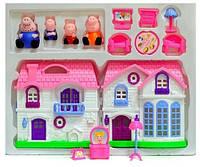 Большой Дом свинки Пеппы с семьей