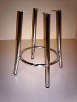 Рама для кухонного табурета TEDDY Chrome (Талли), хром / Каркас для табуретки Тедди Хром, без сидения