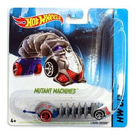 Машина хот вилс мутант hot wheels mutant machines cyborg crusher cgm81 mattel