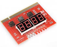 Пк анализатор тестер пост карта  тестер материнских плат PCI POST CARD 4 бита