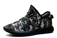 Кроссовки мужские Adidas Yeezy Boost 350, текстиль, камуфляж, р. 43 45, фото 1