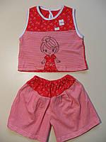 Футболка и шорты для девочки 4 - 5 лет