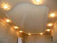 Французские натяжные потолки в спальне
