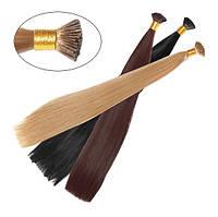 Искусственные волосы на капсулах I tip Гладкий шелк 50см Lady Victory 100г LDV SHT-ICS /55-71