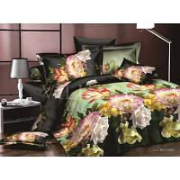 Комплект двухспальный постельного белья сатин люкс Viluta Вилюта 482