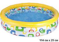 Товар «Детский надувной бассейн Intex 59419 Геометрические фигуры 114x25 см