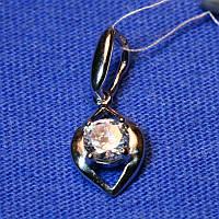 Кулон из серебра в виде Глаза с камушком 3194-р