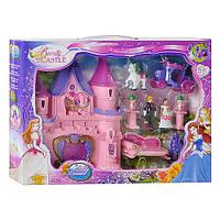 """Игровой набор """"Замок с принцессой, каретой, мебелью"""" арт. 2965"""
