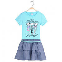 Нарядное и практичное детское платье Glo-Story;  92, 104, 116 размер