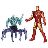 Набор фигурок Железный Человек против дрона Альтрона. Мстители. Оригинал Hasbro