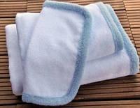 Детское полотенце из органического хлопка BABY/ORGANIC CHILD  HAMAM 75х75  White/Blue