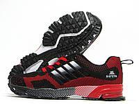 Кроссовки подростковые Bayota красные с черным (байота)