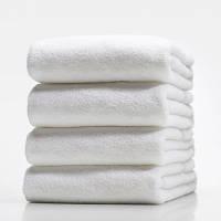 Махровые полотенца без бордюра 50х90; плотность: 450 г/м²