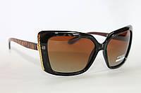 Женские поляризационные очки с двухцветной оправой, фото 1