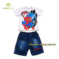 Детский костюм Spiderman на мальчика (футболка, бриджи)
