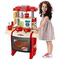 Детская Кухня с посудой WD-B15 музыкальная