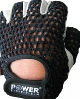 Перчатки Power System для тяжелой атлетики ЧЕРНЫЕ