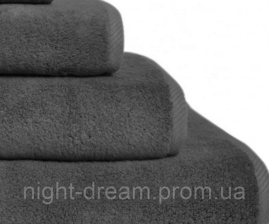 Изысканное полотенце 100х150 Glam HAMAM серое