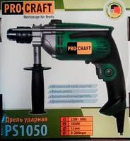 Дрель ударная Procraft PS-1050 (металл)