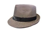Шляпа Челентанка (Brown & White)