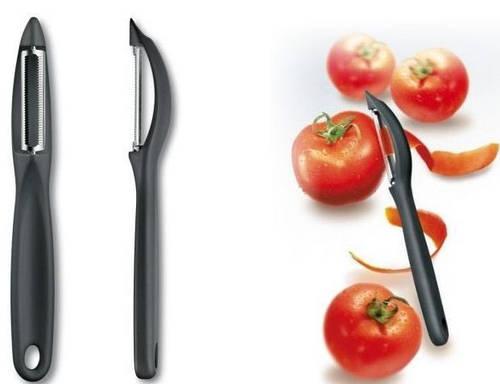 Универсальный нож для чистки овощей Victorinox 76075 черный