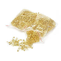 Булавка английская длина - 2см (1700 шт) коробка золотой цвет