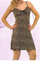 """Женская ночная сорочка """"Леопард"""" Т-416"""