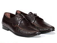 Мужские кожаные мокасины Etor