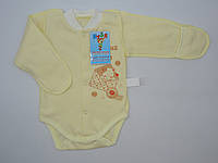 Качественный бодик для малышей 62-68  р