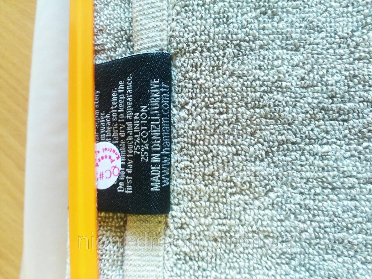 Массажное льняное полотенце 30х145  GALATA MEDIUM HAMAM