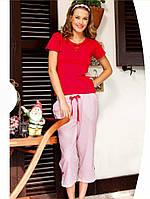 Женская летняя хлопковая пижама